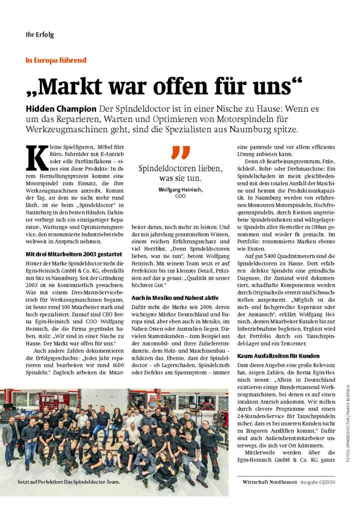 """""""Markt war offen für uns"""""""